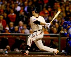 """Buster Posey San Francisco Giants Autographed 16"""" x 20"""" Photograph"""