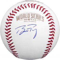 Buster Posey San Francisco Giants Autographed 2014 World Series Baseball
