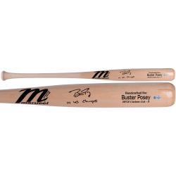 Buster Posey San Francisco Giants 2014 World Series Champions Autographed Marucci Game Model Bat with 14 WS Champs Inscription