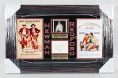 Butch Cassidy & The Sundance Kid – Robert Redford & Paul Newman Signed Cut 17×27 Display – JSA Full LOA