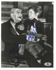 Butch Patrick & Al Lewis The Munsters Dual Signed 8x10 Photo BAS Beckett COA (A)
