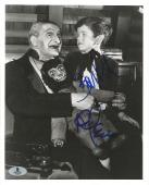 Butch Patrick & Al Lewis The Munsters Dual Signed 8x10 Photo BAS Beckett COA (B)