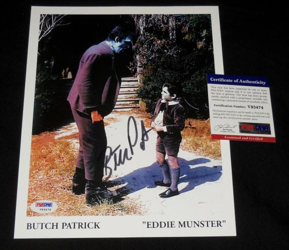 Butch Patrick Autographed 8x10 Color Photo (the Munsters) - Psa Dna!