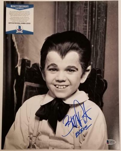 "Butch Patrick ""Eddie Munster"" signed 11x14 Photo #1 Autograph ~Beckett BAS COA"