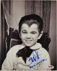 "BUTCH PATRICK ""Eddie Munster"" Signed 8x10 Photo #1 AUTO The Munsters PSA/DNA COA"