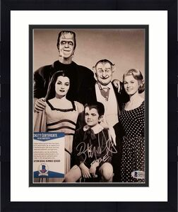 """Butch Patrick """"Eddie Munster"""" signed 8x10 Photo #2 The Munsters~ Beckett BAS COA"""