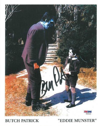 Butch Patrick Signed 'Eddie Munster' Authentic Autographed 8x10 Photo PSA/DNA #3