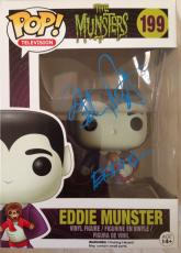 "BUTCH PATRICK Signed Eddie Munster Funko POP! Figure ""The Munsters"" Proof Pic"