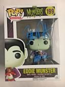 "BUTCH PATRICK Signed Eddie Munster Funko POP! Figure ""The Munsters"" Proof Pic A"
