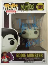 BUTCH PATRICK Signed Eddie Munster Funko POP! Figure The Munsters PSA Proof Pic