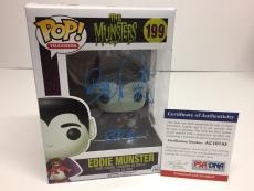 "Butch Patrick Signed Eddie Munster Funko Pop *The Munsters ""Eddie"" PSA"