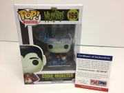 "Butch Patrick Signed Eddie Munster Funko Pop *The Munsters ""Eddie"" PSA AC16747"