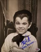 BUTCH PATRICK Signed Rare Eddie Munster Inscribed 8x10 The Munsters PSA/DNA COA