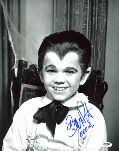 "Butch Patrick The Munsters ""Eddie"" Signed 11x14 Photo PSA/DNA #AC21464"