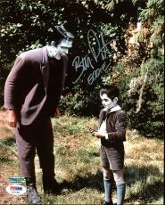 "Butch Patrick The Munsters ""Eddie"" Signed 8X10 Photo PSA/DNA #AC21403"