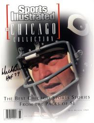 Dick Butkus Chicago Bears Autographed Sports Illustrated Magazine with HOF 79 Inscription