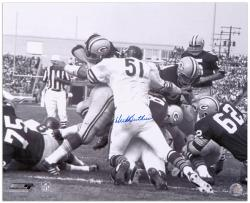 Dick Butkus Autographed Picture - 16x20 Mounted Memories