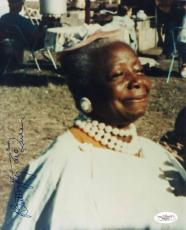 """BUTTERFLY MCQUEEN SIGNED 8""""x10"""" PHOTO GONE WITH THE WIND JSA AUTHENTICATED"""