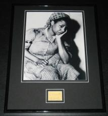 Butterfly McQueen Signed Framed 11x14 Photo Poster Display Gone With the Wind
