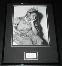Butterfly McQueen Signed Framed 11x14 Photo Poster Display Gone With the Wind C