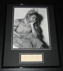 Butterfly McQueen Signed Framed 11x14 Photo Poster Display Gone With the Wind D