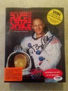 Buzz Aldrin APOLLO 11 Signed Race Into Space Computer Game PSA/DNA COA