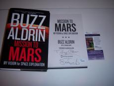 Buzz Aldrin Astronaut,mission To Mars Jsa/coa Signed Book