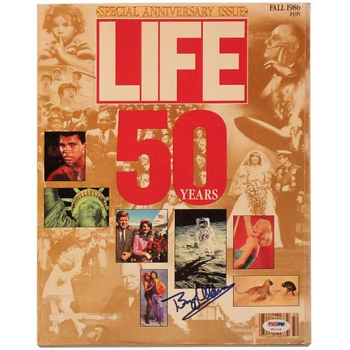 Buzz Aldrin Autographed Life Magazine (50 Years Special Anniversary Issue) Apollo 11 Moon Landing – PSADNA