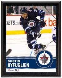 "Dustin Byfuglien Winnipeg Jets Sublimated 10"" x 13"" Plaque - Mounted Memories"