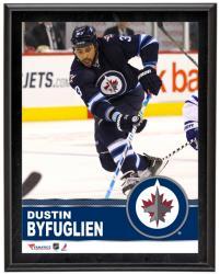 """Dustin Byfuglien Winnipeg Jets Sublimated 10"""" x 13"""" Plaque"""