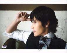 Byung-hun Lee Signed 11x14 Photo PSA/DNA COA Picture Autograph GI Joe Terminator