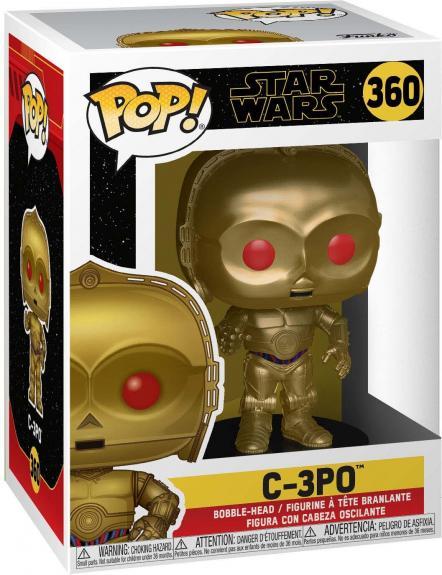 C-3PO with Red Eyes Star Wars #360 Funko Pop! Figurine