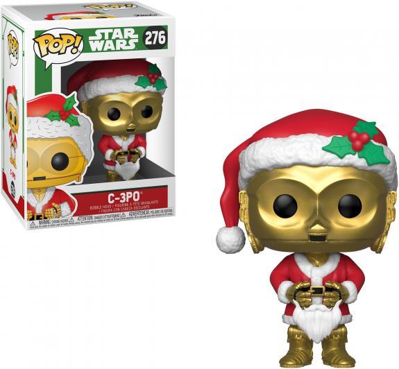 C3PO Star Wars #276 Holiday Funko Movie Pop!