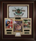 Caddyshack Cast Signed Display Rodney Dangerfield & Ted