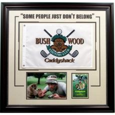 Caddyshack Collage with Golf Pin Flag