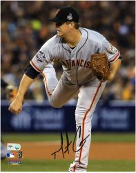 "Matt Cain San Francisco Giants Autographed 8"" x 10"" Pitch Action Photograph"