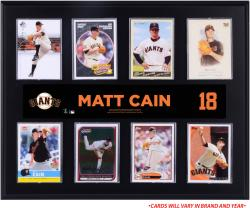 "Matt Cain San Francisco Giants Sublimated 12"" x 15"" Trading Card Plaque"