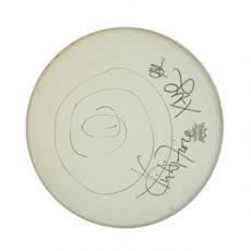 Cake x4 Autographed Signed Drum Head UACC RD COA