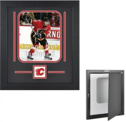 Calgary Flames Vertical 8'' x 10'' Photo Display Case - Mounted Memories