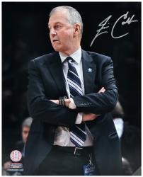 "Jim Calhoun Connecticut Huskies Autographed 16"" x 20"" Folded Arms Photograph - Mounted Memories"