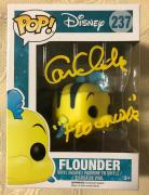 Cam Clarke Signed Autographed Flounder Disney Funko Pop Beckett COA