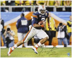"Cam Newton Auburn Tigers 16"" x 20"" Running Photograph - Mounted Memories"