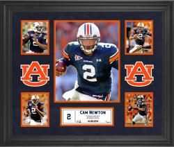 Cam Newton Auburn Tigers Framed 5-Photo Collage
