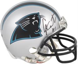 Cam Newton Carolina Panthers Autographed Riddell Mini Helmet - Mounted Memories