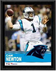 "Cam Newton Carolina Panthers Sublimated 10.5"" x 13"" Plaque"