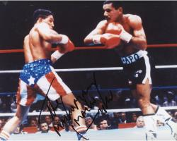 CAMACHO, HECTOR AUTO (IN RING) 8X10 PHOTO - Mounted Memories