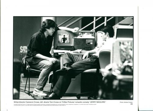Cameron Crowe Tom Cruise Jerry Maguire Original Movie Still Press Photo