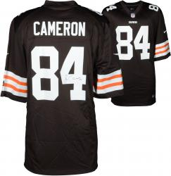 Jordan Cameron Cleveland Browns Autographed Nike Replica Brown Jersey - Mounted Memories