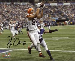 Jordan Cameron Cleveland Browns Autographed 8'' x 10'' Horizontal Catch Photograph - Mounted Memories