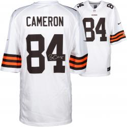 Jordan Cameron Cleveland Browns Autographed Nike Replica White Jersey